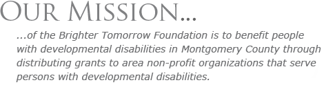 The Mission of Brighter Tomorrow Foundation